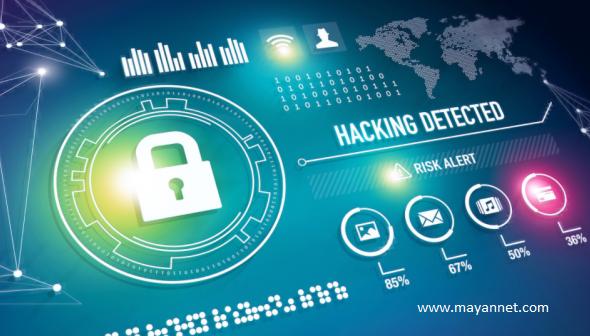 امنیت وب سایت - گروه مایان
