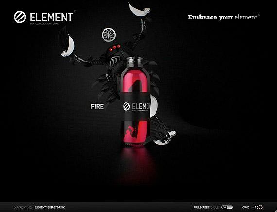 طراحی 3 بعدی وب سایت