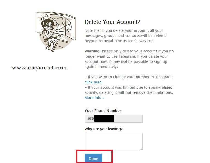 حذف اکانت تلگرام (5)